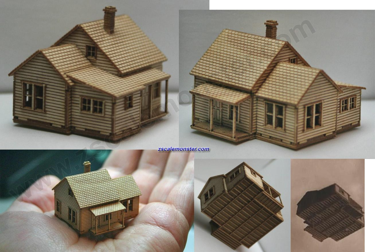 monster house 3d model