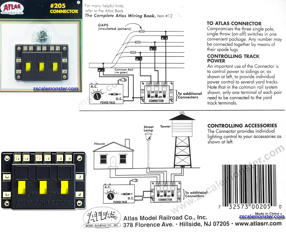 z scale atlas zscale monster trains Atlas Turn Out Wiring-Diagram Atlas Turn Out Wiring-Diagram