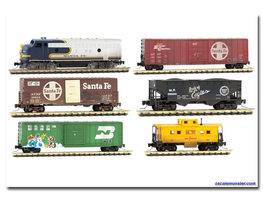Z scale Sets - Zscale Monster Trains