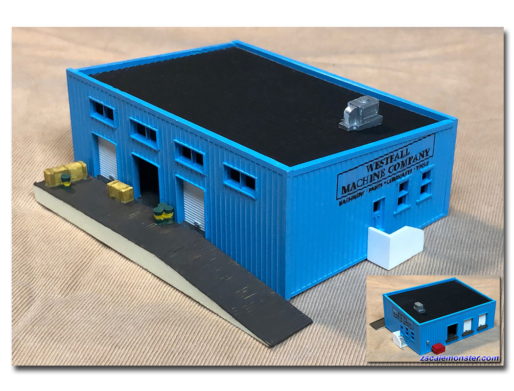 Easy to build N Scale kit by Randy Brown TINY/'S DINER N-905